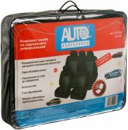 Комплект чохлів на сидіння  11 елементів AUTO ASSISTANCE JJ775/BK чорний