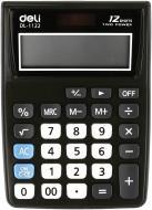Калькулятор 1122Е професійний 120x86x30 мм Deli