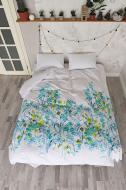 Комплект постільної білизни Botanica полуторний білий із малюнком SoundSleep