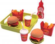 Ігровий набір Ecoiffier Гамбургер з підносом 000957