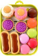 Ігровий набір Ecoiffier Піднос з тістечками 000980