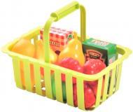 Ігровий набір Ecoiffier Кошик для супермаркету з продуктами 000981