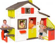 Ігровий будиночок Smoby з горищем та літньою кухнею 810200