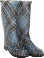 Чоботи Alisa Line Шотландка р.38 А201 синій