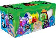 Ароматний слиз-лизун Danko Toys 3 в 1: Magnetic Slime, Fluffy Slime, Crazy Slime Fluoric рос. SLM-14-01