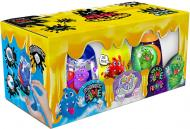 Ароматний слиз-лизун Danko Toys 3 в 1: Magnetic Slime, Fluffy Slime, Crazy Slime Fluoric укр. SLM-14-01U