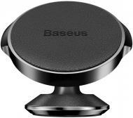 Автотримач Magnetic Vertical Leather type BASEUS SUER-F01 чорний