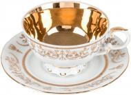Чашка с блюдцем золото 200 мл Rudolf Kampf