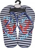 Обувь для пляжа Luna Stripe Marine р. 36-37 мульти