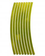 Світловідбивач LOOM LM-0011-green-yellow (наклейка для обода)