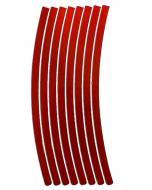 Світловідбивач LOOM LM-0011-red (наклейка для обода)