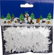 Декорація новорічна Конфеті зірочки 200558