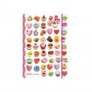 Блокнот My.Book Flex PP А5 40 аркушів Recipes клітинка пластикова обкладинка 11415627 Herlitz