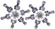 Ялинковий набір Акрилова сніжинка 8,5 см 2 шт. 200589 8,5 см 2 шт./уп.