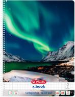 Блокнот Dream Landscape Норвегия Північне Сяйво А4 80 аркушів клітинка 50032389N Herlitz