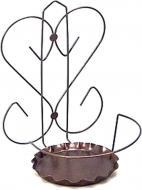 Тримач Prosperplast York для квітів Серце коричневий