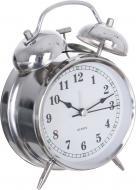 Будильник Alert (XYX 10850S) 11,7х17х5,6 см серебряный