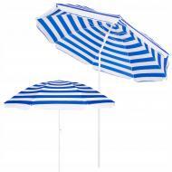 Пляжный зонт с регулируемой высотой и наклоном Springos 180 см BU0008