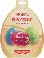 Барвник для великодніх яєць Червоний мармур