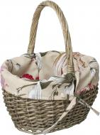 Кошик плетений з текстилем 31х24х18/36 см Easter13-5-2