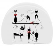Серветниця Чорна кішка 10 см 3662-12 S&T