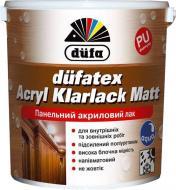 Лак Düfatex Acryl Klarlack Matt Dufa напівмат прозорий 0,75 л