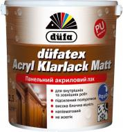 Лак панельний Dufatex Acryl Klarlack Matt Dufa напівмат прозорий 10 л