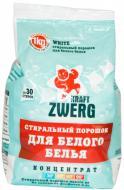 Пральний порошок для машинного та ручного прання Kraft Zwerg для білої білизни 1 кг