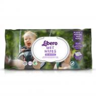 Дитячі вологі серветки Libero Aloe 64 шт.