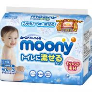 Дитячі вологі серветки Moony 150 шт.