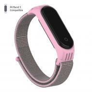 Ремешок для фитнес-браслета Armorstandart Sport Loop для Xiaomi Mi Band 5 Pink (ARM56872) 56872
