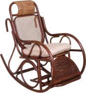 Крісло-гойдалка Indigo Сантьяго 139x58x110 см бежевий