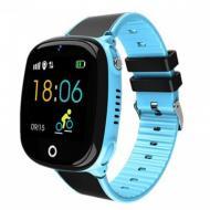 Детские Умные ЧасыBaby Smart Watch Hw11 Aqua Plus Сине-Черные