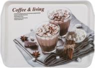Поднос Sweet Coffee, 35,5х25,5х2,5 см Flamberg