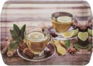 Таця Ginger Tea 35,5х25,5х2,5 см Flamberg