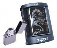 Бензиновая зажигалка ZIPPO Silver Dragon Серебристый (i2049)