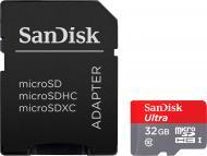 Карта пам'яті SanDisk microSDHC 32 ГБ Class 10UHS-I (SDSQUNS-032G-GN3MA)