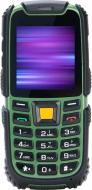 Мобільний телефон Nomi i242 X-treme black/green