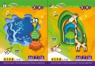 Папір кольоровий А4 14 аркушів 7 кольорів Kids Line ZiBi