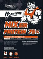 Протеїн Excellent Nutrition PROTEIN MIX ELIT зі смаком банану 1000 г