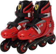 Роликові ковзани Ferrari FK7 р. 33-36 червоний