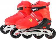 Роликові ковзани Ferrari FK13 р. 35-38 червоний