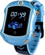 Телефон-часы GoGPSme с GPS трекером GOGPS ME X01 blue (X01BL)