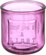 Свічник Shine a light 300 мл Фуксія San Miguel