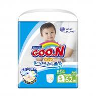 853625 Трусики-підгузники GOO.N для активних дітей 4-9 кг (розмір S, унісекс, 62 шт)