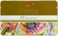 Олівці кольорові Elegance Olli