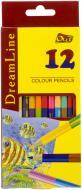 Олівці кольорові DreamLine Olli