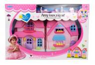 Кукольный домик с куклами и мебелью A-Toys (SL325161)