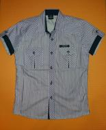 Рубашка для мальчика Mine 134-140 см Серый (ю112)