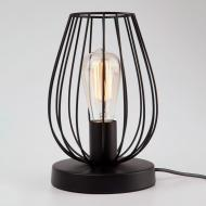 Настільна лампа декоративна Strotskis Jersey 1x60 Вт E14 чорний 01013/1